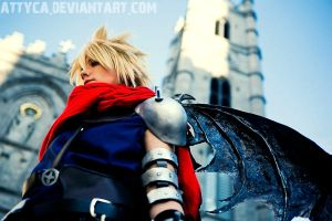 KH Cloud Cosplay by Attyca