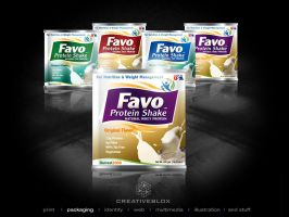 FavoProtein_Packaging by creativeblox