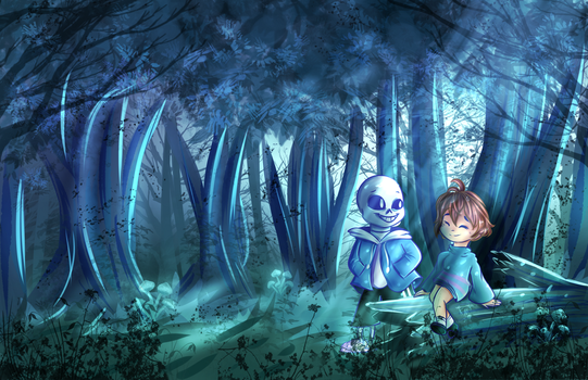 Into the Woods. by KarmaMoonshadow