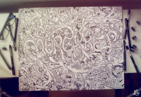 Doodle: Murekkep (Hand-drawn Version) by lei-melendres