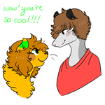 You're Cool Too by RayvieCat