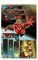 captain marvel by nefar007