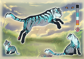 Tiger adoptable A// Auction// CLOSED by Belliko-art
