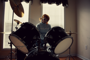 they have a girl drummer?! by genuphobic