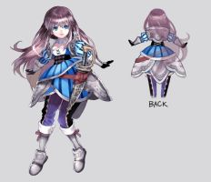 Character designs by eyin2000