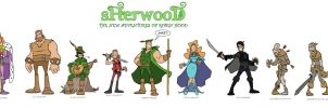Sherwood: The Whole Gang by tyrannus