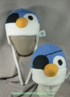 Pirate penguin hats by The-Cute-Storm