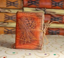 Small Dragonfly Journal by gildbookbinders