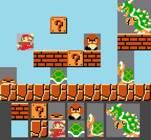 My Own Super Mario Maker by saffronpanther