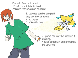 Randomized Emerald rules by ToxicHikaru