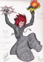KH2 and Pokemon for Devinart by littledinosaurarms