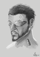 Adam Jensen by SpaceMoule