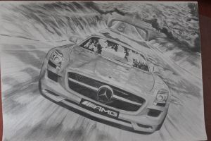 Mercedes-Benz SLS AMG FINISHED by daharid