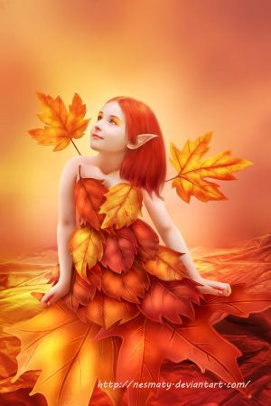 Autumn Fairy by Nesmaty