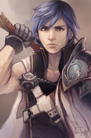 Fire Emblem Awakening: Chrom by c-dra