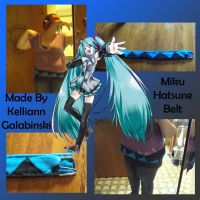 Miku Hatsune Belt by CupcakeCrafty