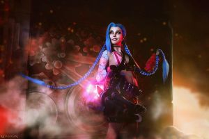 LOL - Jinx - Come out, come out, wherever you are! by MilliganVick
