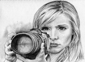 Veronica Mars by evogal