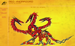 Red Hydrazord by KyuubiNight