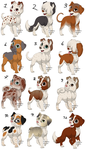Random FREE Dog Adopts #2 CLOSED by Loony-Adopts