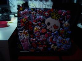 My laptop XD by bloodwolf8