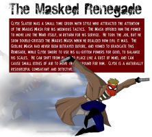 The Masked Renegade: Impossible Odds by PaulOoshun
