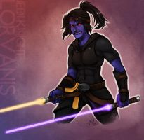 SWTOR - UnconqueredCats Commission by luniara