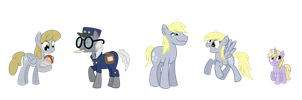 Derpy's Family by TheCheeseburger