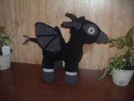 Harry Potter inspired Baby Thestral by Nanettew9