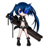 SD BLACK ROCK SHOOTER by qrullgx13