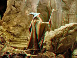 Gandalf in 3-D by MVRamsey
