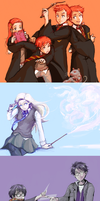 Tumblr Dump - Harry Potter by Chizuri