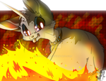 Fire FOX they say by JB-Pawstep