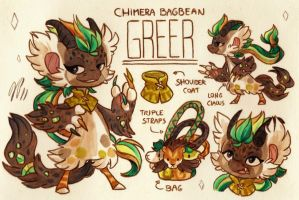 Greer Ref. Sheet [Commission] by Baraayas