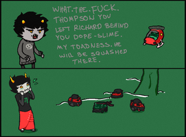 Karkat is bored by Vaxes