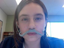 This...Is a clay Mustache by Halfkit