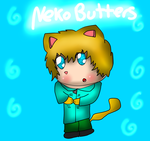 AT with OneAndOnlyFlana: Neko Butters by Hallerpl