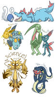POKEMON REQUESTS 6 by WolfyTails