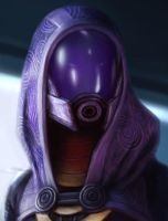 Tali fanart study by ReBeLKiMy