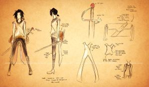 Vance Folchart: Character Sheet by glaciesClOvEr