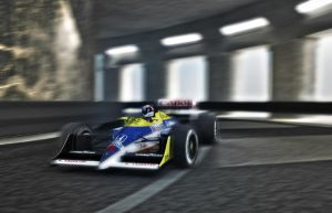 williams fw11 monaco by TheUncle