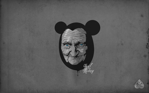 mickey not young by the-marazmo