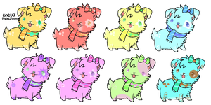 Free Puppies (Closed) by Rissa--Chan