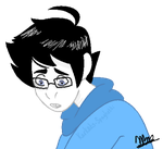John Egbert {He Looks Pretty Sad} by Karkats-Spaghetti