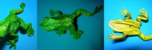 green tree frog 3.6 by palaeorigamipete