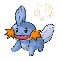 Happy Mudkip by YoshiOG1