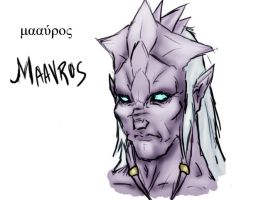 World of Warcraft: Maavros by deviantberd