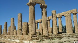 Agrigento's Temple by Master-Of-Games