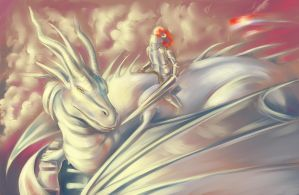 The Dragon Rider by Aarcana