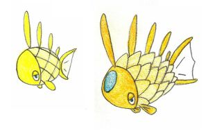 pine cone fish ADOPTED by FrozenFeather